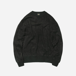 [ 시즌 오프 30% 할인 ] Bamboo yarn sweatshirt_ black_블랙